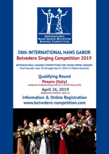 Belvedere competition poster